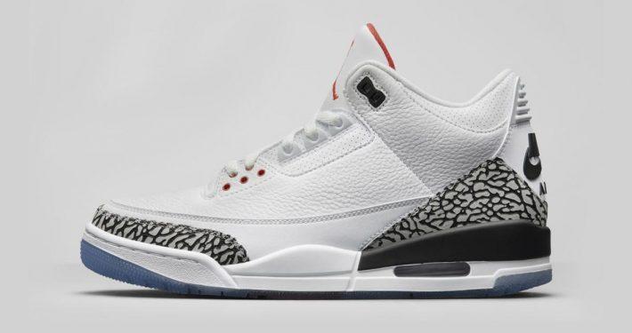 Nike Air Jordan 3 White Cement 923096-101