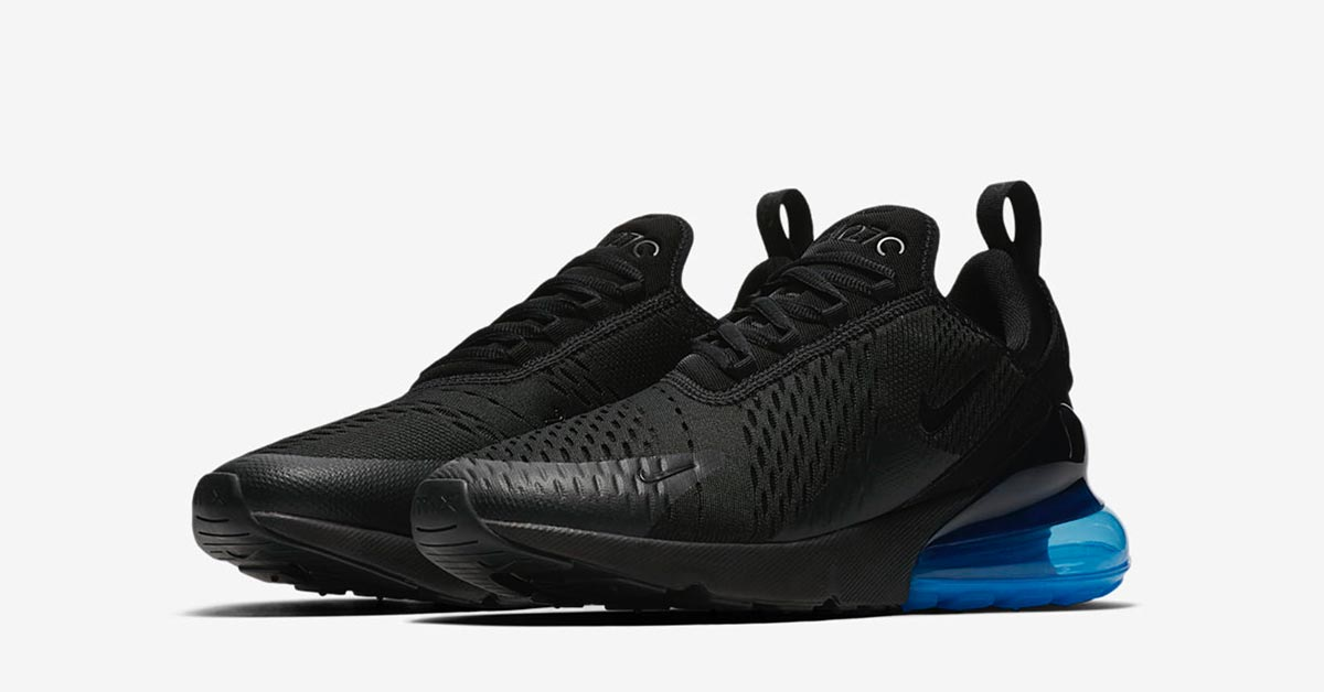 quality design 7e7a3 6386b Nike Air Max 270 Black Blue