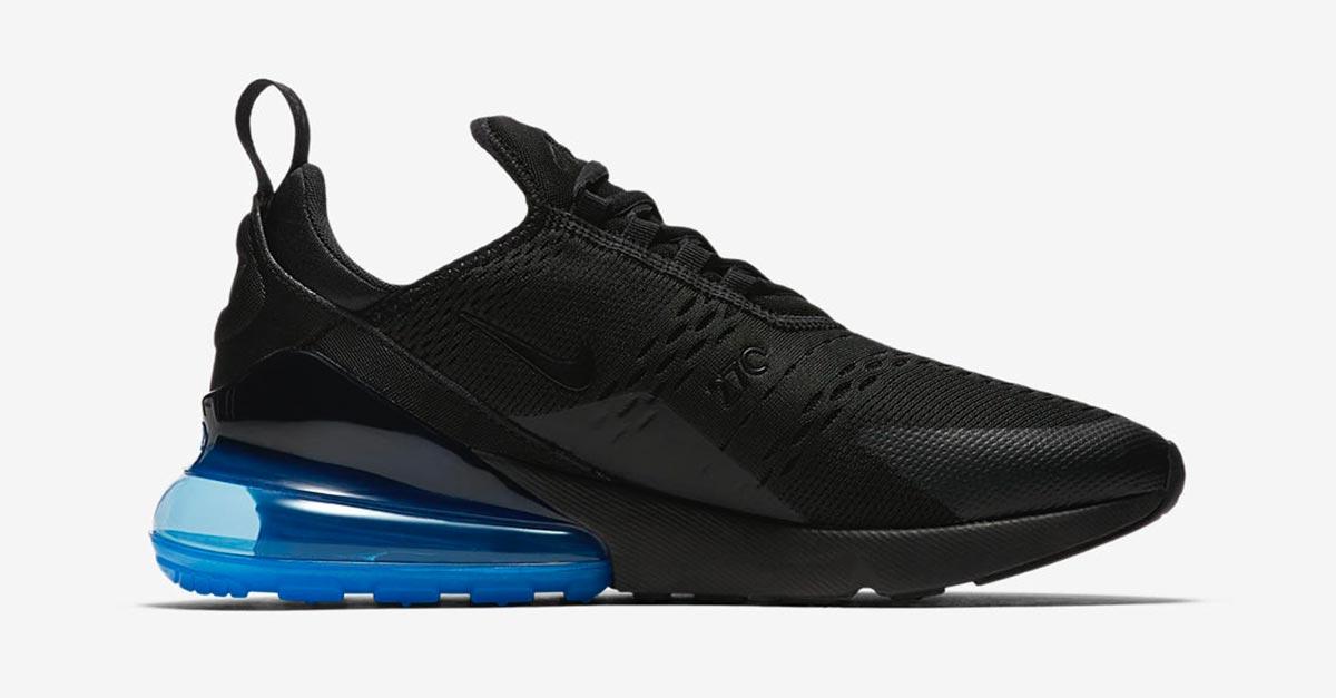 Nike Air Max 270 Black Blue AH8050-004