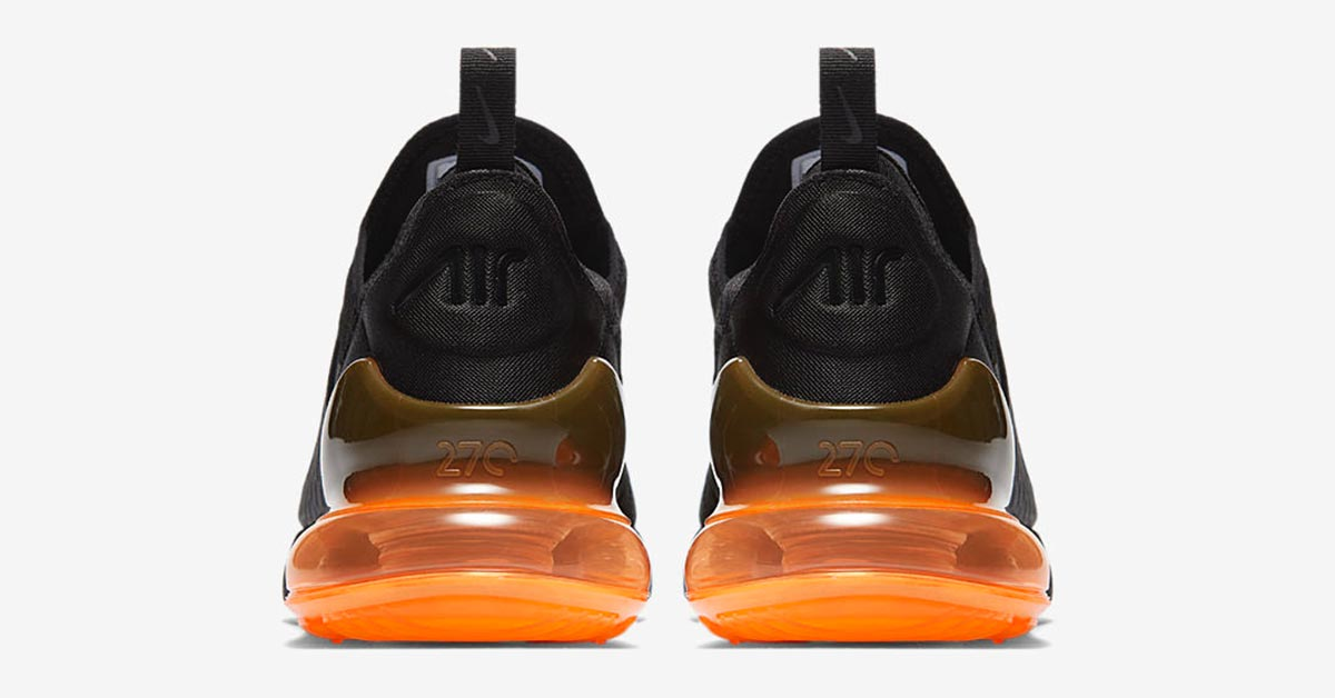 Nike Air Max 270 Black Orange AH8050-008