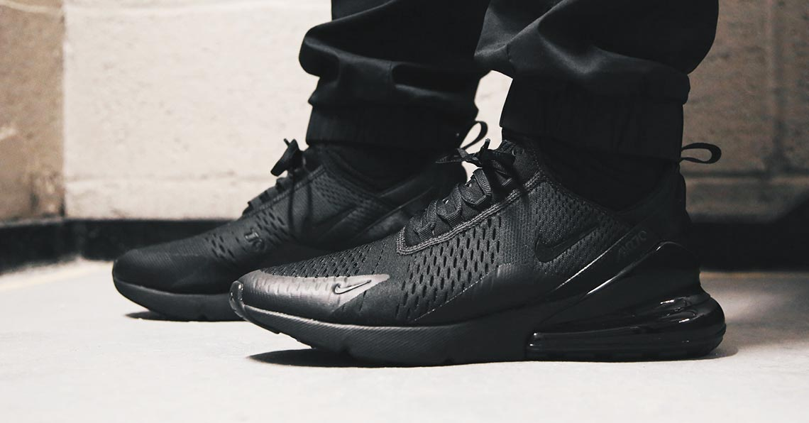 Nike Air Max 270 Triple Black AH8050-005
