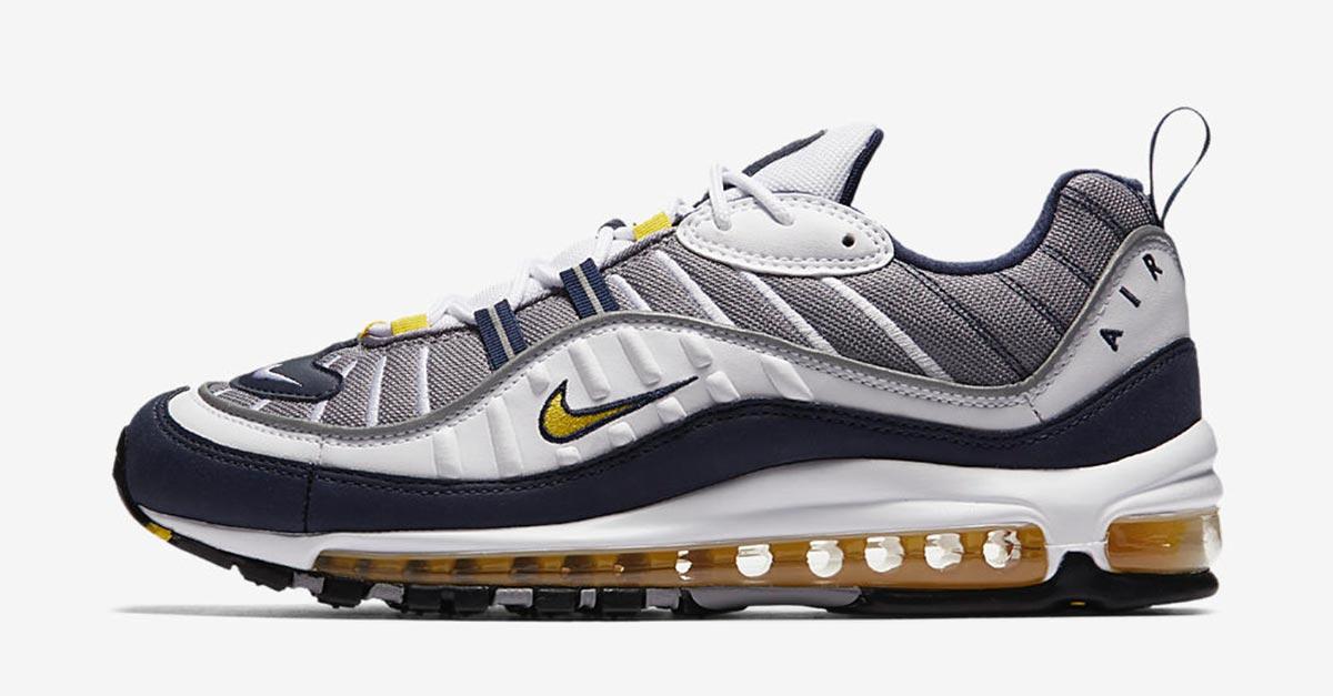 Nike Air Max 98 Tour Yellow 640744-105