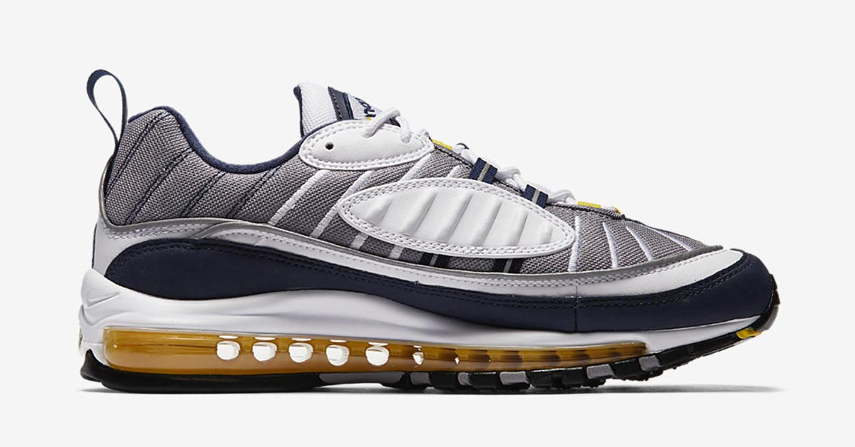 Nike Air Max 98 Tour Yellow Cool Sneakers