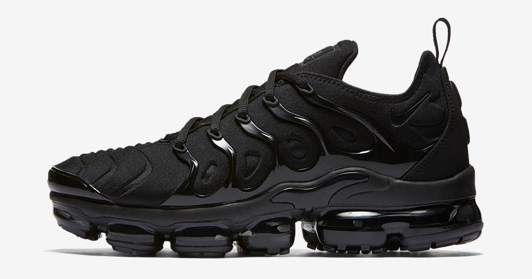 Nike Air VaporMax Plus Triple Black 924453-004