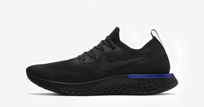 Nike Epic React Black Racer Blue