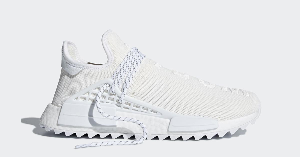 Pharrell Williams x Adidas NMD Hu Trail Cream AC7031