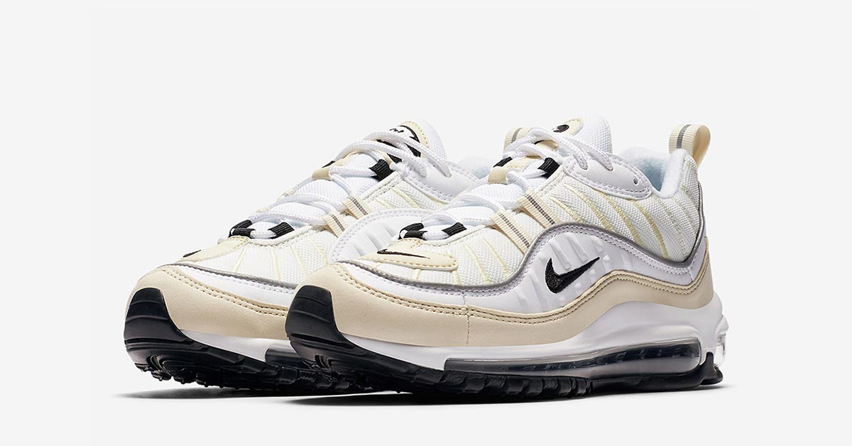 Womens Nike Air Max 98 Fossil AH6799-102