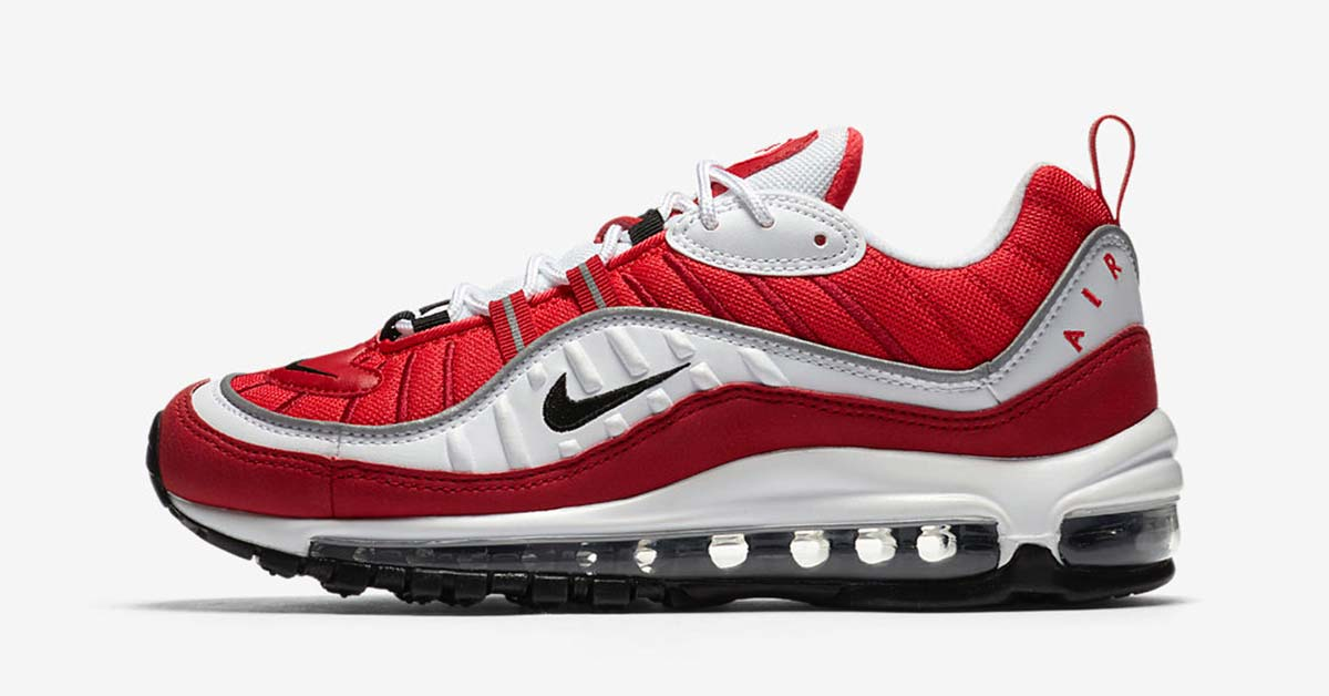 Nike Air Max 98 Red White