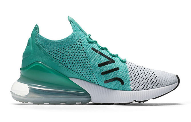 Nike Air Max 270 Flyknit Clear Emerald