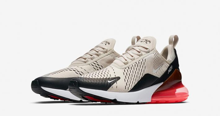 Nike Air Max 270 Light Bone Hot Punch AH8050-003