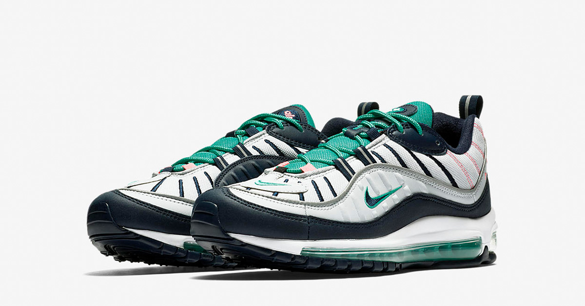 Nike Air Max 98 Pure Platinum Obsidian 640744-005