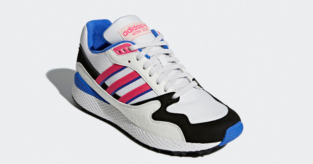 Adidas Ultra Tech Crystail White Shock Pink AQ1190