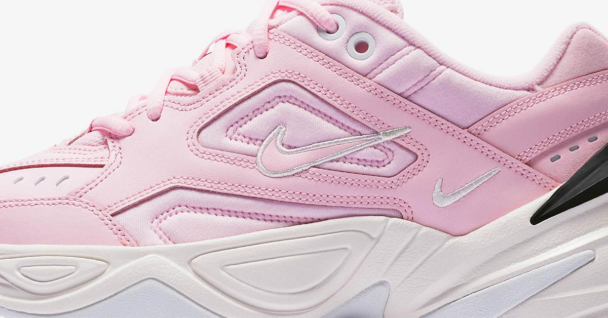 Lyserøde Nike M2K Tekno til Damer