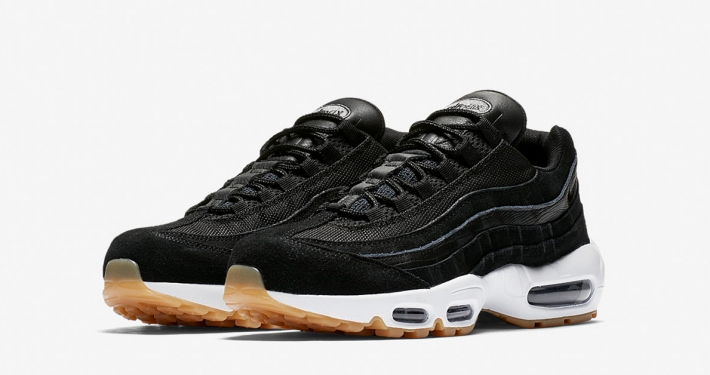Nike Air Max 95 Premium Black Dark Grey 538416-016