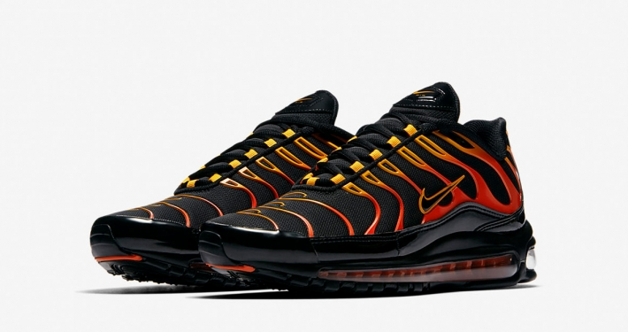 Nike Air Max 97 Plus Shock Orange Black AH8144-002