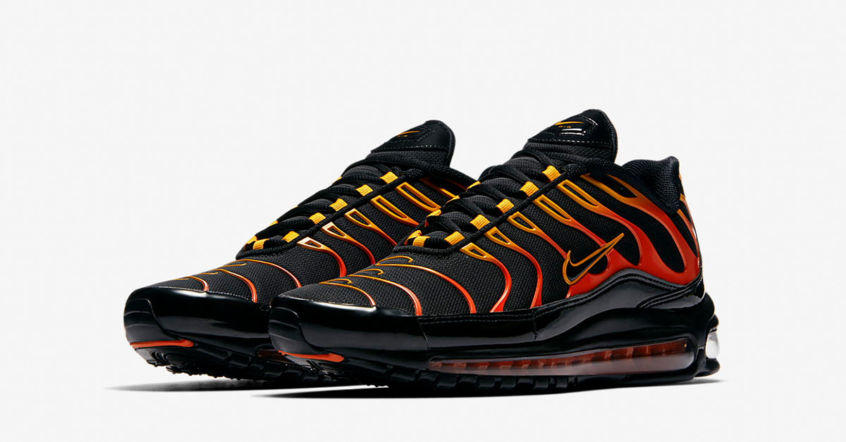 5792a123be ... low price nike air max 97 plus shock orange black fccde 34950