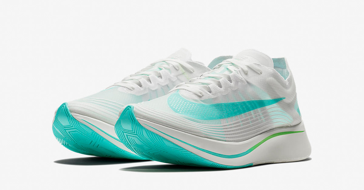 Nike Zoom Fly SP White Rage Green AJ9282-103
