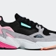 Womens Adidas Falcon Core Black Light Granite BB9173