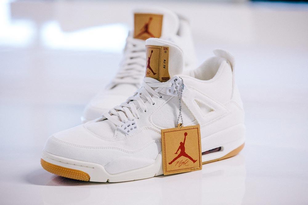 Levis x Nike Air Jordan 4