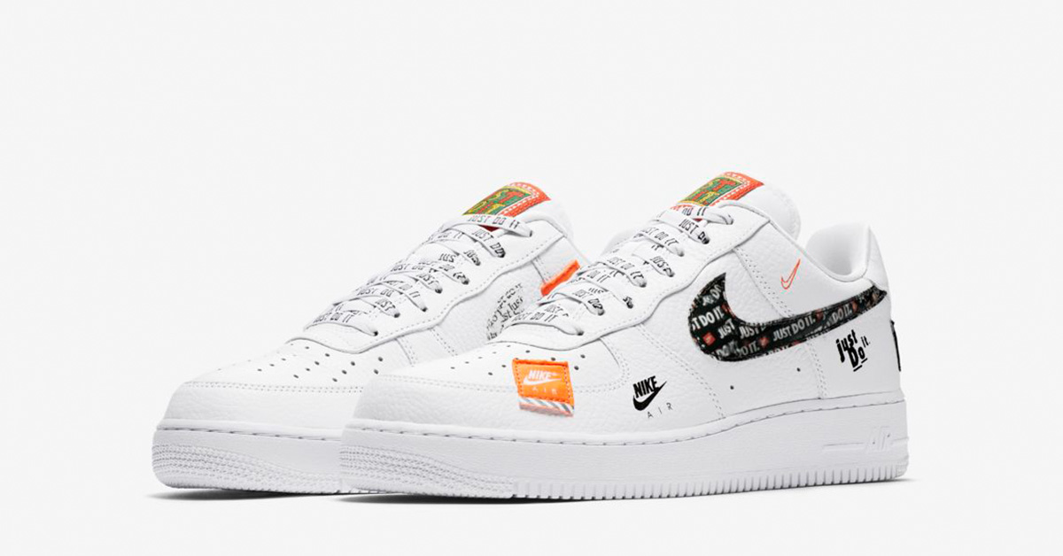 f14ac5dc4cce Nike Air Force 1 Low Premium White Total Orange - Cool Sneakers