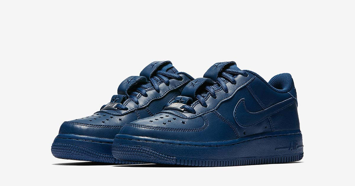 Nike Air Force 1 QS Independence Day Blå AR0688-400