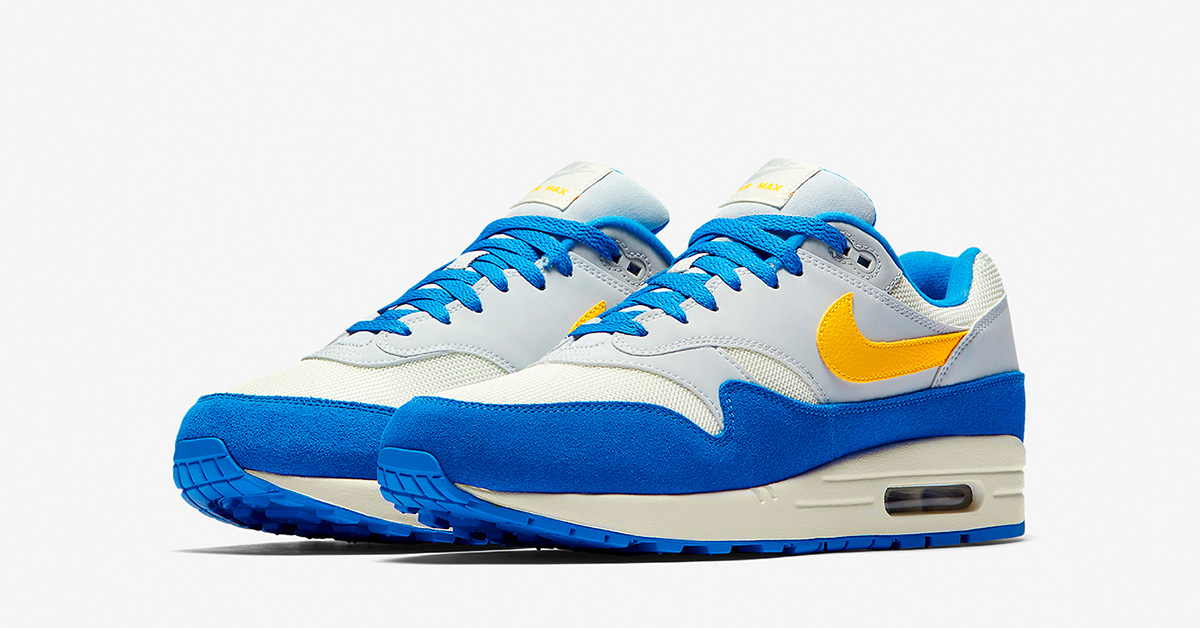 Nike Air Max 1   Blue   Sneakers   AH8145 108   Caliroots