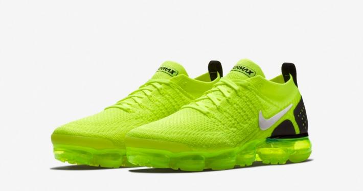 Nike Air Vapormax Flyknit 2 Volt