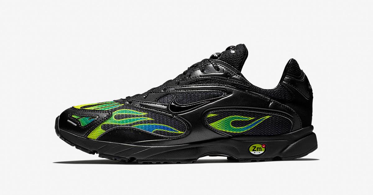 Supreme x Nike Zoom Streak Spectrum Plus Black AQ1279-001
