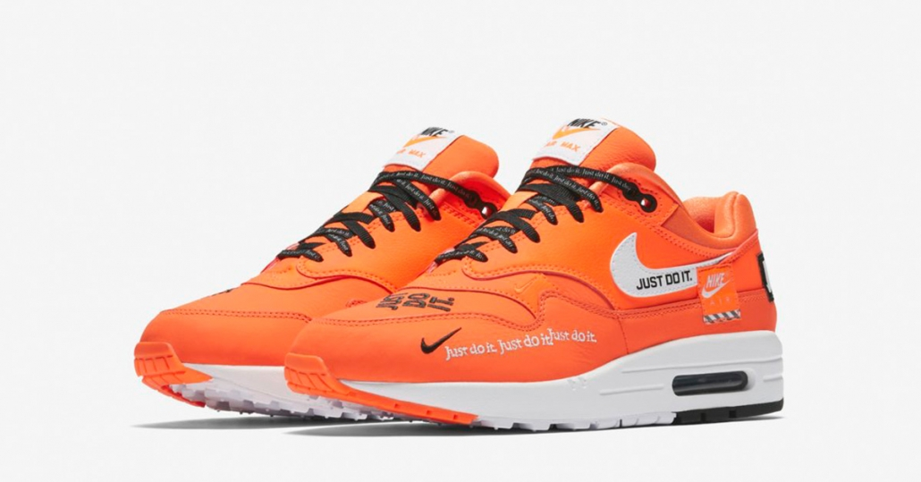 Womens Nike Air Max 1 Total Orange 917691-800