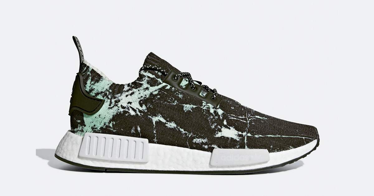 Adidas NMD R1 Green Marble BB7996