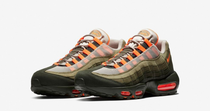 Nike Air Max 95 Total Orange Medium Olive