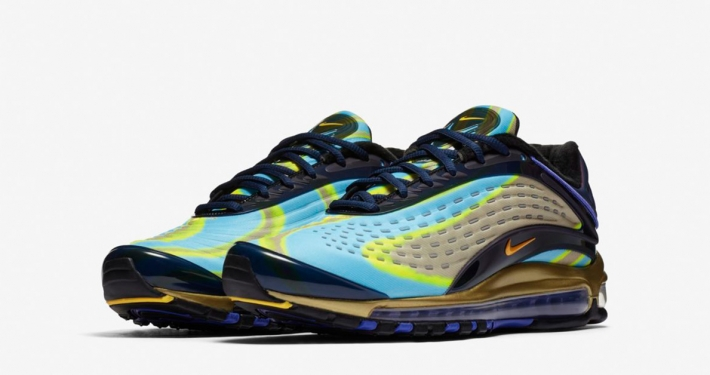 Nike Air Max Deluxe Midnight Navy Laser Orange AJ7831-400