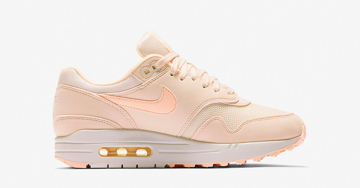 Womens Nike Air Max 1 Guava Ice 319986-802