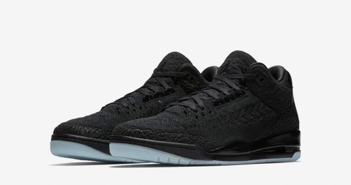 Nike Air Jordan 3 Flyknit Black Anthracite