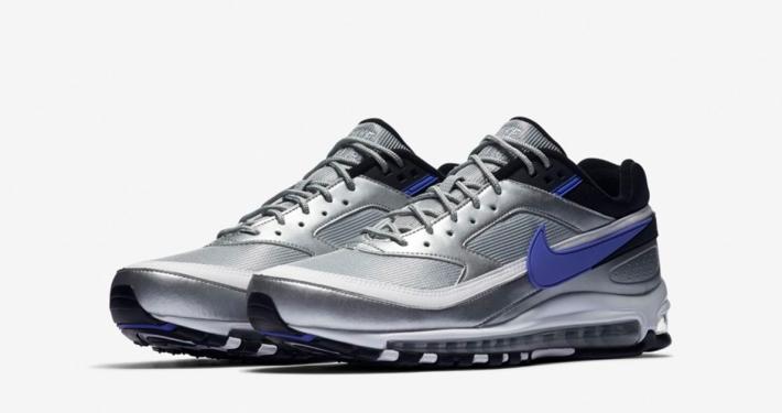 Nike Air Max 97 BW Sort Blå Cool Sneakers