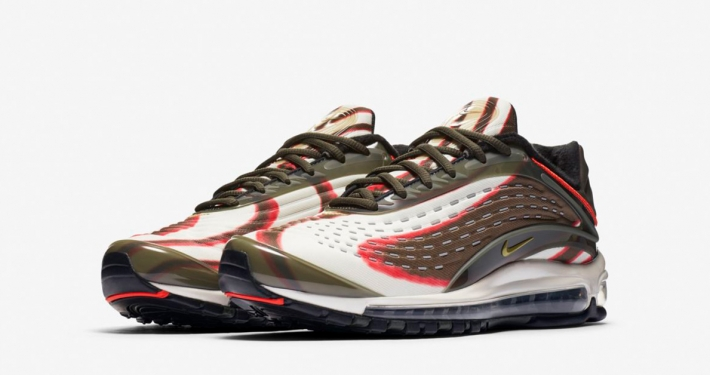 Nike Air Max Deluxe Sequoia Team Orange