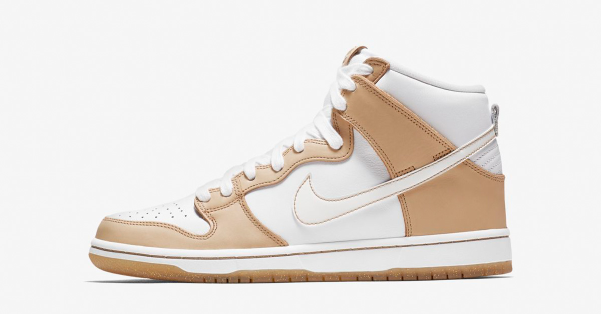 Premier x Nike SB Dunk High Vachetta Tan White