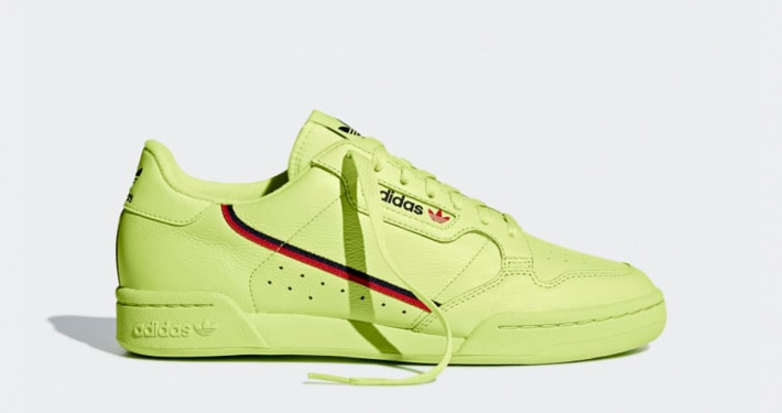 Adidas Continental 80 Semi Frozen Yellow B41675