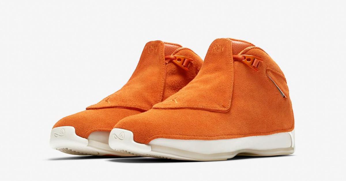 Nike Air Jordan 18 Campfire Orange