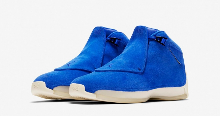Nike Air Jordan 18 Racer Blue