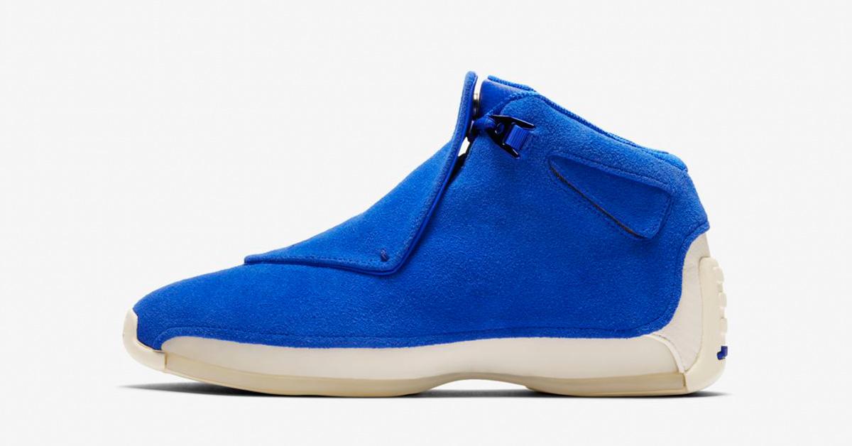 Nike Air Jordan 18 Racer Blue