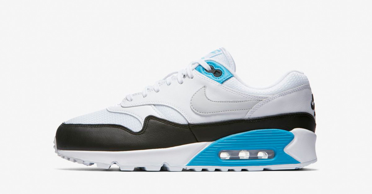 Nike Air Max 90/1 White Neutral Grey Black