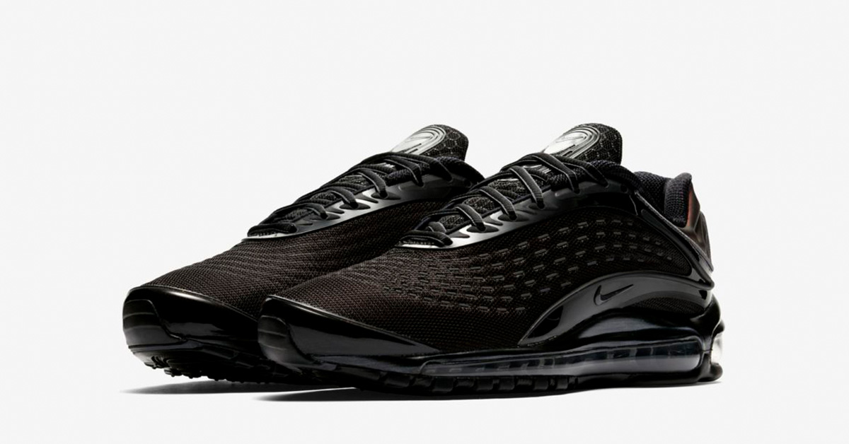 Release Date: Nike Air Max Deluxe Triple Black •