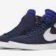 Nike Blazer Mid Rebel Blackened Blue til kvinder