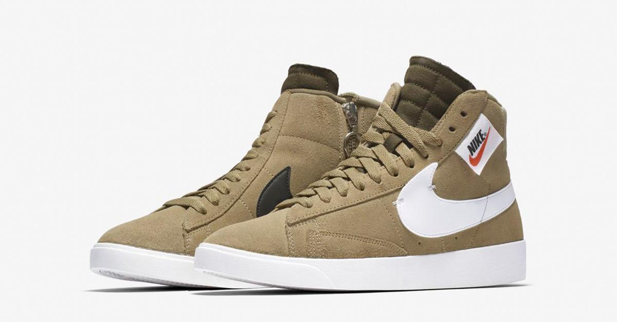 release date: e864e 9839c Nike Blazer Mid Rebel Neutral Olive til kvinder