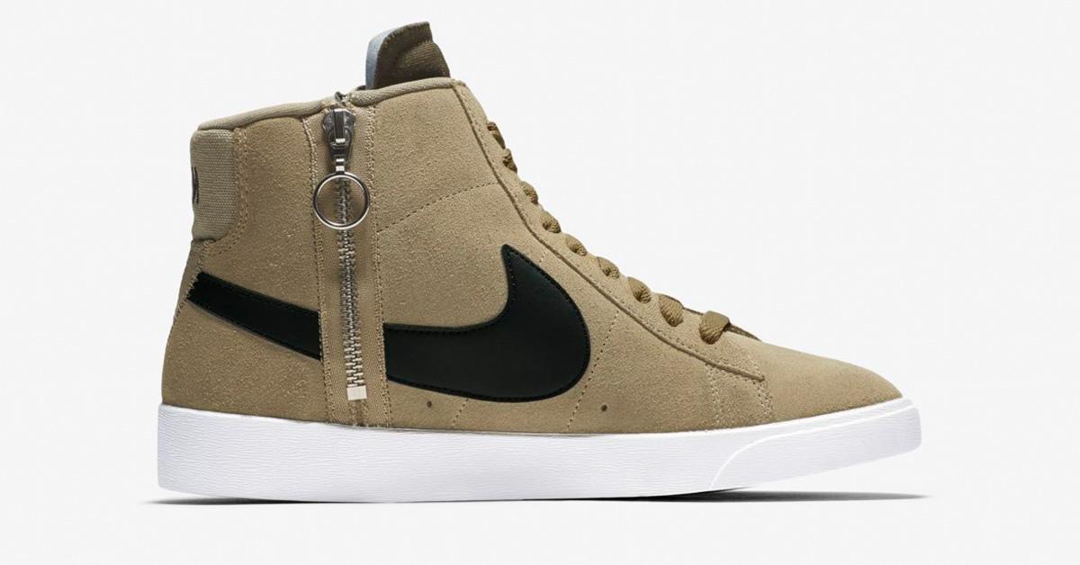 Nike Blazer Mid Rebel Neutral Olive til kvinder