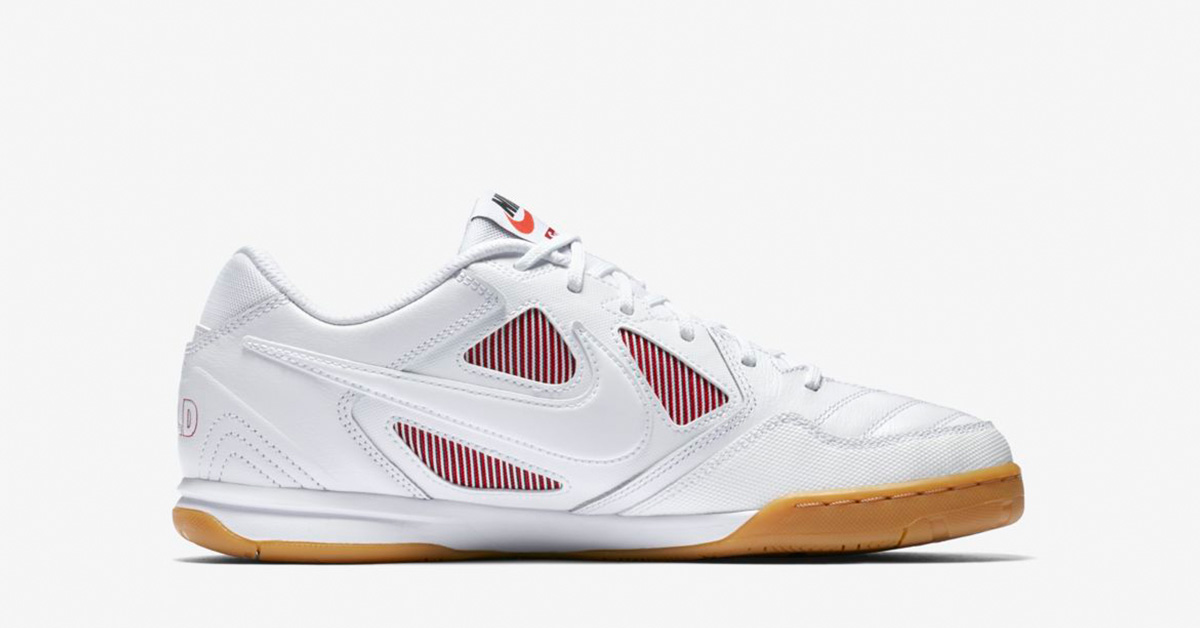 Supreme x Nike SB Gato White Gym Red