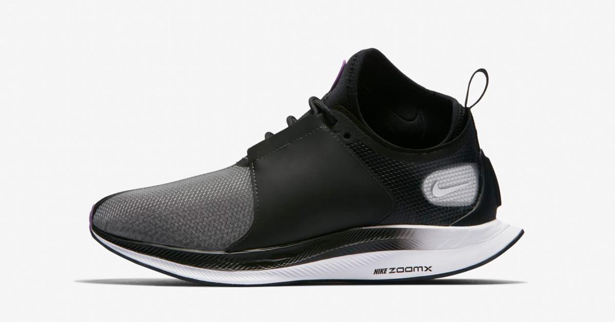 Womens Nike Zoom Pegasus Turbo XX Black Bright Violet