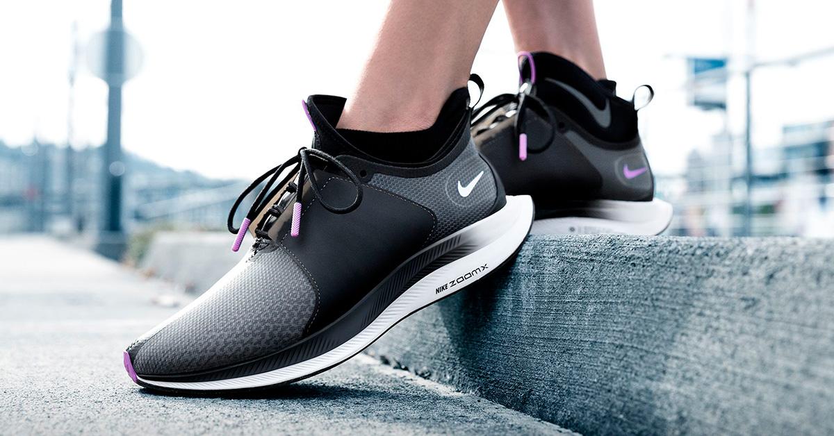 Womens Nike Zoom Pegasus Turbo XX Black Bright Violet - Cool Sneakers 10eb26b26a8