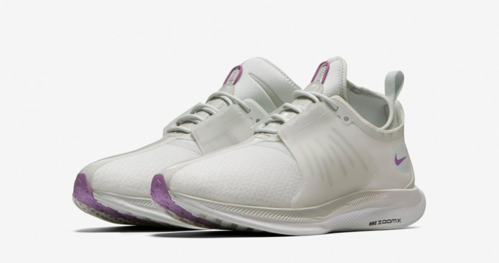 Womens Nike Zoom Pegasus Turbo XX Pure Platinum Bright Violet